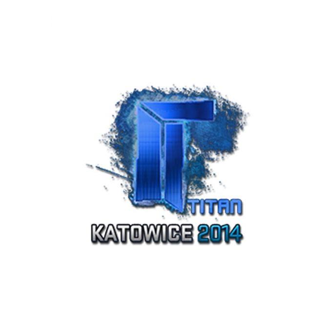 Наклейка Titan