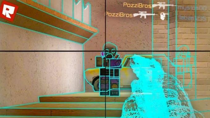 Читы для игры Roblox CS GO