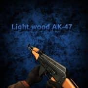 Light wood + Clean metal AK-47 Модель CS:GO