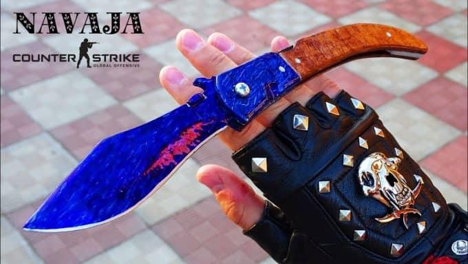 Наваха нож кс го 1