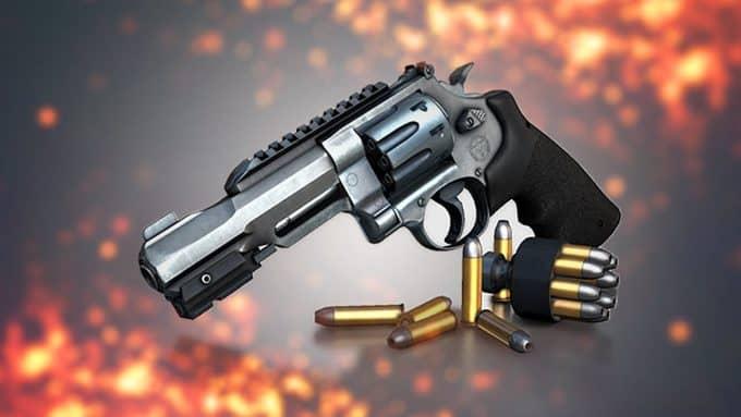 Револьвер R8 скин 1