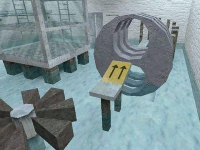 Deathrun Ice карта Cs1.6