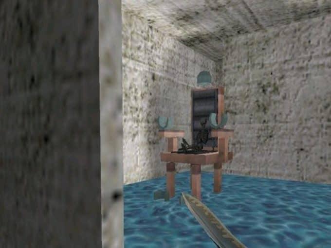 Deathrun Alcatraz карта Cs1.6