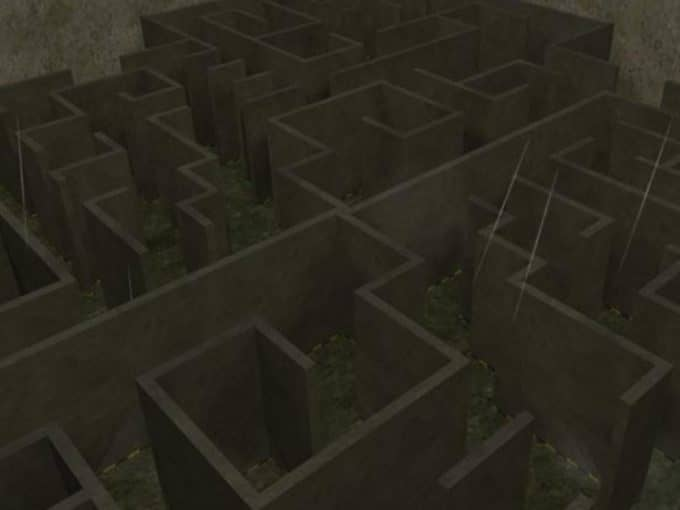 Knife Labyrinth карта Cs1.6