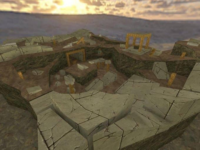 Rayish Ruins карта Cs1.6