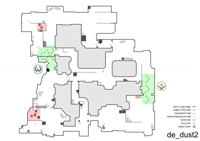 Схема карт cs 1.6