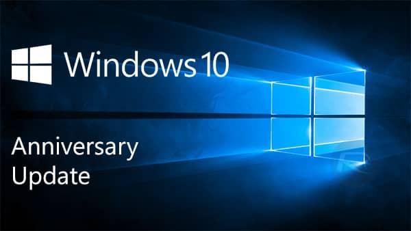 падение FPS windows 10 aniversary update