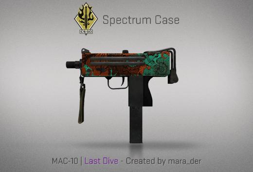 Скины/оружия в Spectrum Case