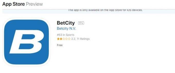 Betcity скачать для ipad