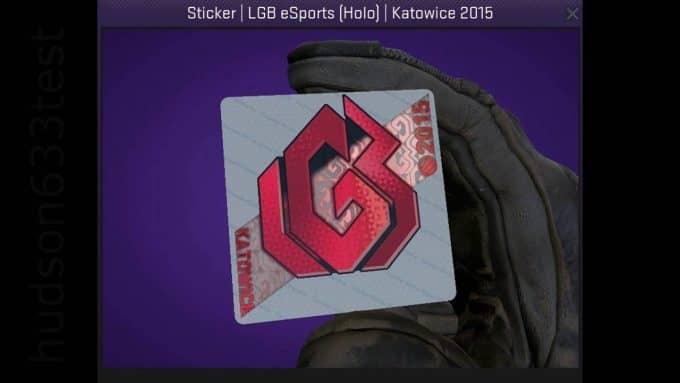 Наклейка LGB eSpost