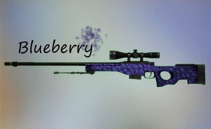 AWP - Blueberry Модель CS:GO