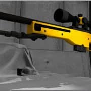 AWP Orange Модель CS:GO