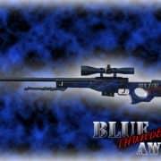 BLUE THUNDER AWP Модель CS:GO
