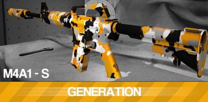 M4A1-S - GENERATION Модель CS:GO