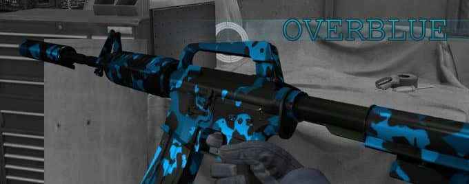 M4A1-S - OVERBLUE Модель CS:GO