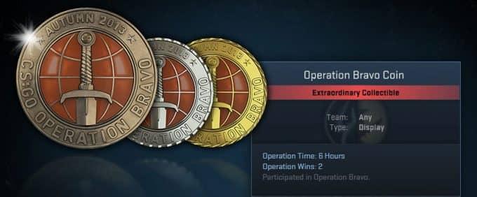 Медали за операцию кс го
