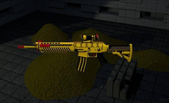 SG 553 - Bloodmoney Модель CS:GO
