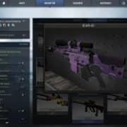 Violet SCAR Модель CS:GO