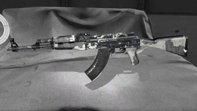 Worn-out AK47 Модель CS:GO