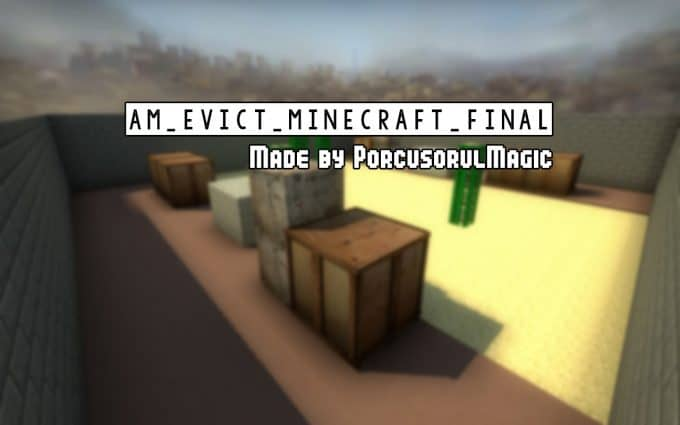 [ARENA] Evict Minecraft Final карта CS:GO