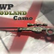 AWP Woodland Camouflage Модель CS:GO