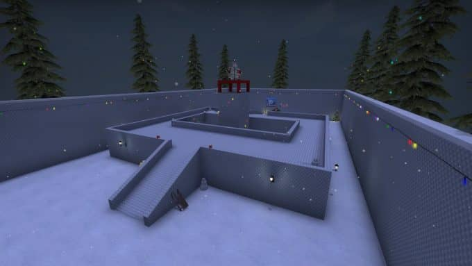 awp_lego_2_christmas карта CS:GO