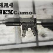 M4A4 Hex Camouflage Модель CS:GO