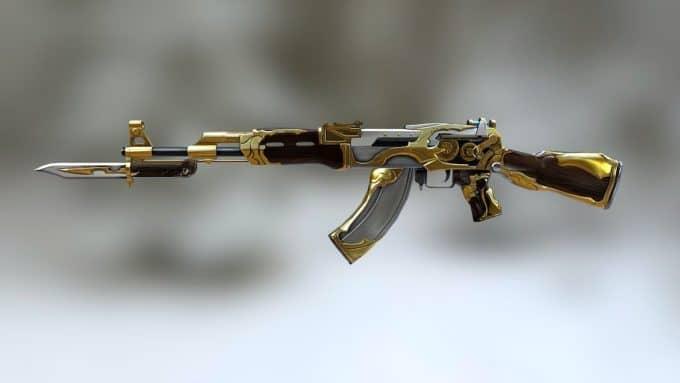 AK-47 Knife Royal Guard скин CS:GO