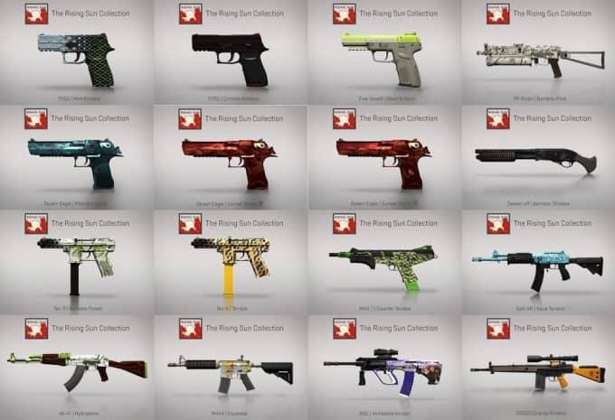Коллекции оружия CSGO