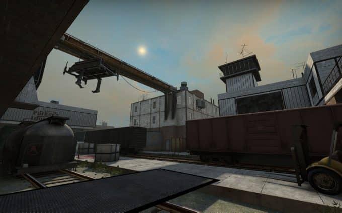 Traincrash II карта CS:GO