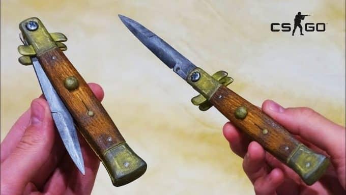 Стилет нож 1