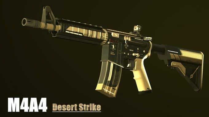 M4A4 кс го 3