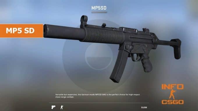 MP5 SD кс го