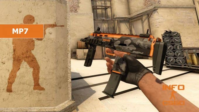 MP7 кс го 5