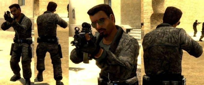 ACU Terrorist Team скин игроков CS:S