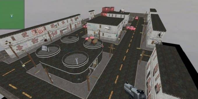 td_headquarters карта CS:S