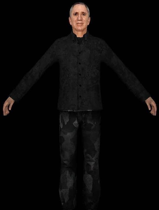 Hostages скин игроков CS:S