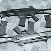 Arby's G36C Reanimated модель оружия CS:S