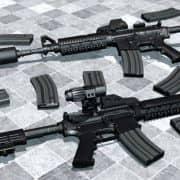 Tigg's AR 15 ReAnimated модель оружия CS:S