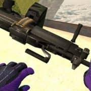 Negev Knife модель оружия CS:GO