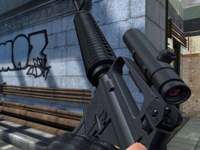 Colt M16A2 модель оружия CS:S