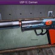 usp.45 caiman модель оружия CS:S