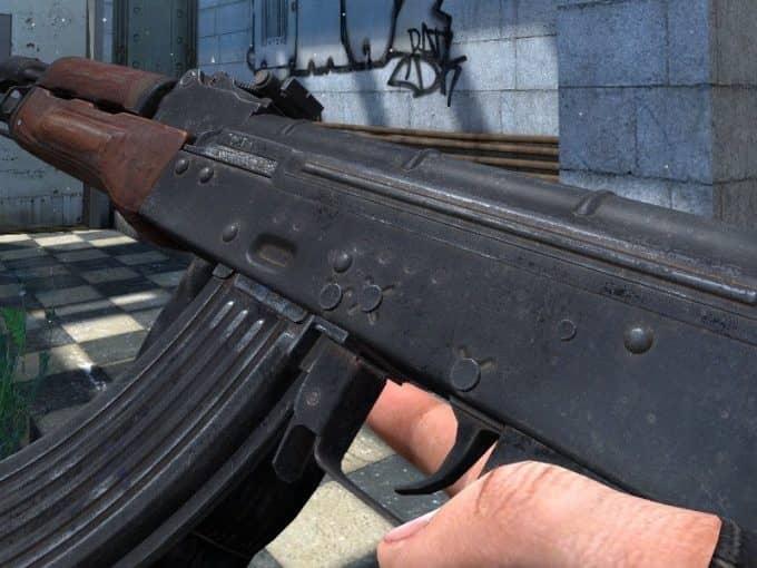 Avtomat Kalashnikov модель оружия CS:S