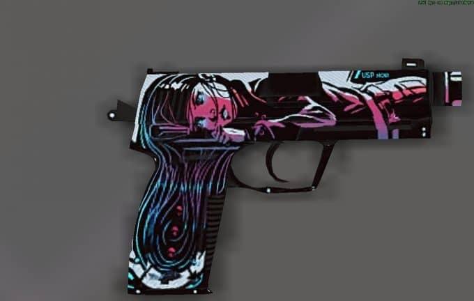 USP - Neo-Noir модель оружия CS:S