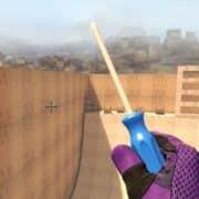 Blue Screwdriver модель оружия CS:GO