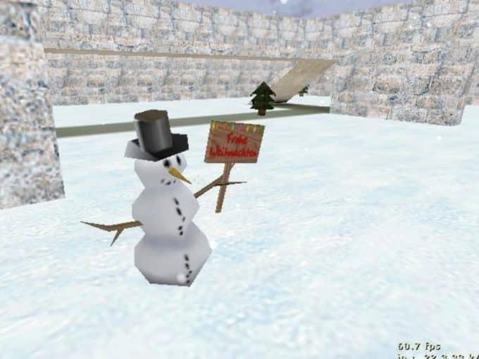 Aim Usp Christmas карта Cs1.6