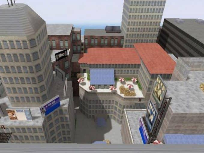 Awp Rooftops карта Cs1.6