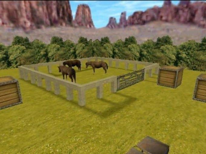 Ka Horse Square карта Cs1.6