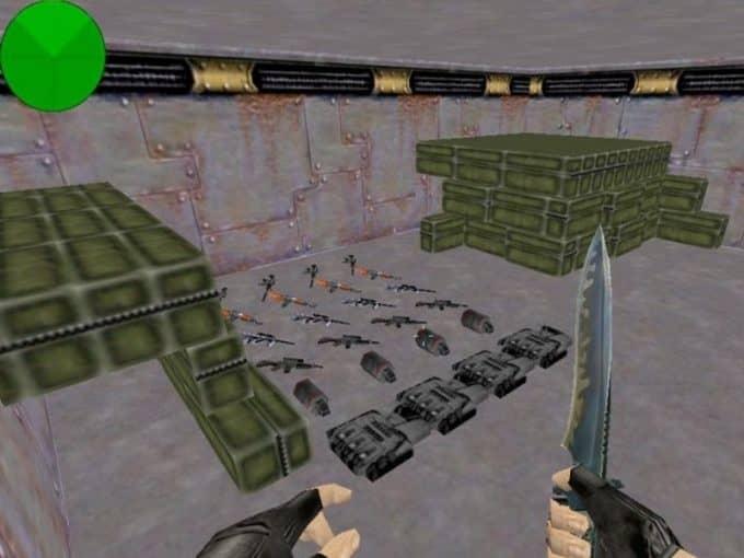 Zm Levels Grass карта Cs1.6