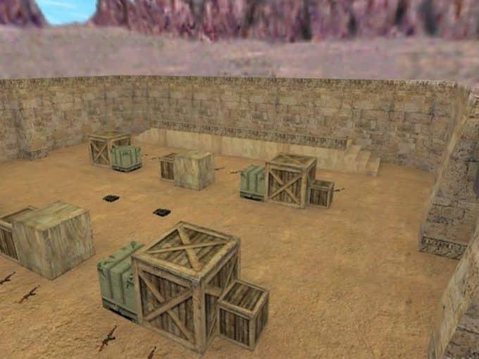 Aim Dust2011 карта Cs1.6